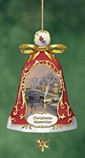Christmas Memories Porcelain Bell Ornament