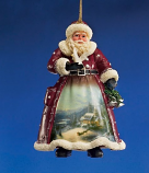 Peaceful Santa Ornament