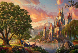 Beauty and the Beast II Painting