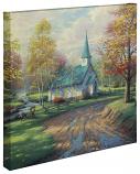"The Aspen Chapel Canvas Wrap 20""x20"""