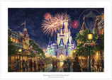 Main Street, U.S.A. Walt Disney World Resort Paper Edition