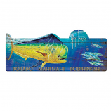 Dorado Mahi Mahi Dolphin Fish Sign