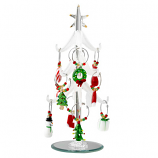 Glass Wine Charm Tree