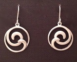 Double Wave Earrings