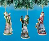 Old World Charm Santa Ornament Set 1