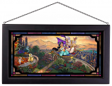 Aladdin Framed Glass Art