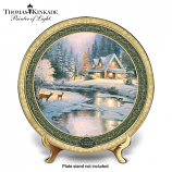 Deer Creek Cottage Christmas Plate