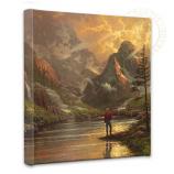 "Almost Heaven 14""x14"" Canvas Wrap"