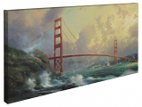 Golden Gate Bridge, San Francisco Panoramic Canvas Wrap