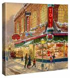 "A Christmas Wish 14""x14"" Canvas Wrap"