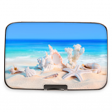 Beach & Shells Armored Wallet