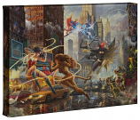The Women of DC Canvas Wrap
