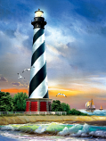 Cape Hatteras Lighthouse Puzzle