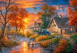 Grandpa's Farm Painting
