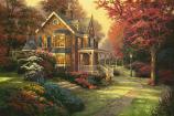 Victorian Autumn Painting