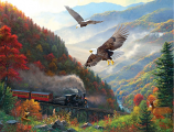 Great Smoky Mountain Railroad Puzzle