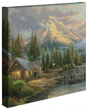 "Lakeside Hideaway 14""x14"" Gallery Wrap"