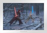 The Duel: Rey vs. Ren Paper Edition