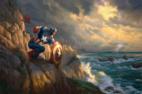 Captain America Sentinel of Liberty Painting