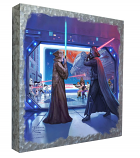 Obi-Wan's Final Battle Metal Art Box